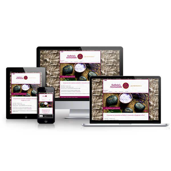Webshop und responsive Webdesign für Aromastube