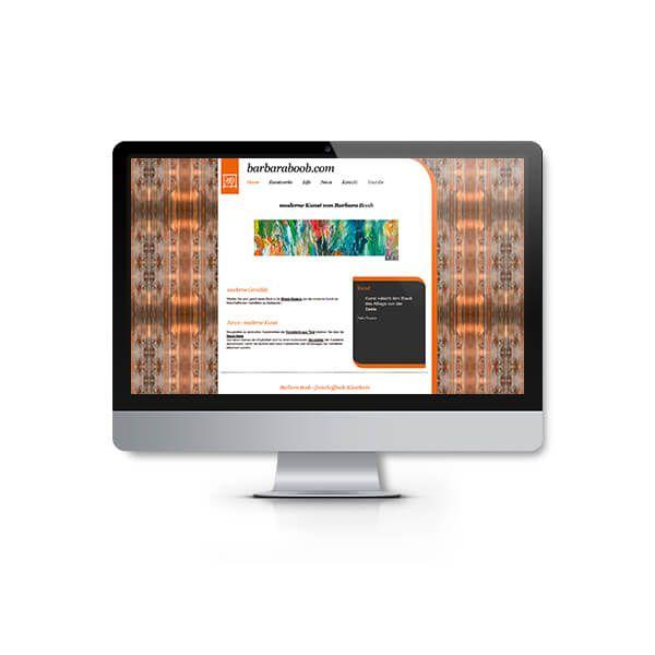 Webdesign Fügen Künstlerin