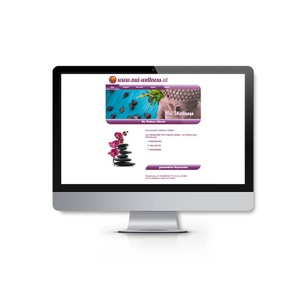 Webdesign Nui Wellness