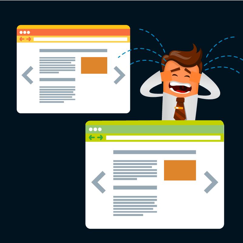 Duplicate Content Suchmaschinenoptimierung