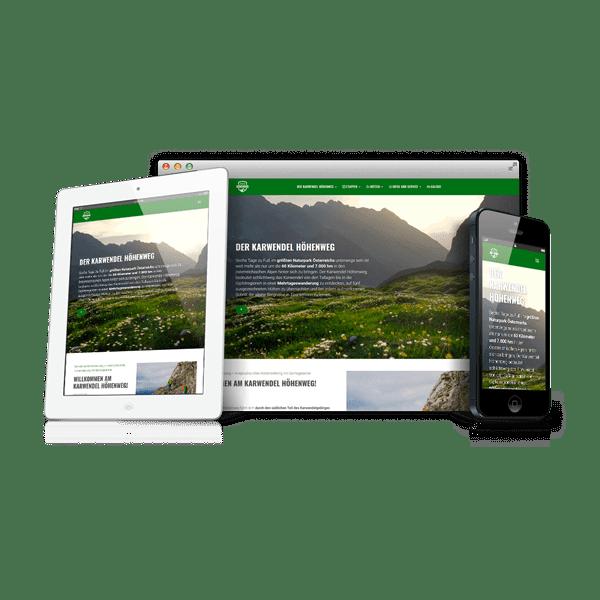 Webdesign Karwendel Höhenweg