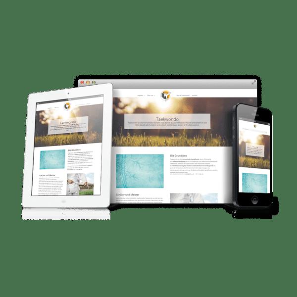 Webdesign Sejong Taekwondo Innsbruck
